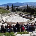 Επίσκεψη θέατρο Διονύσου
