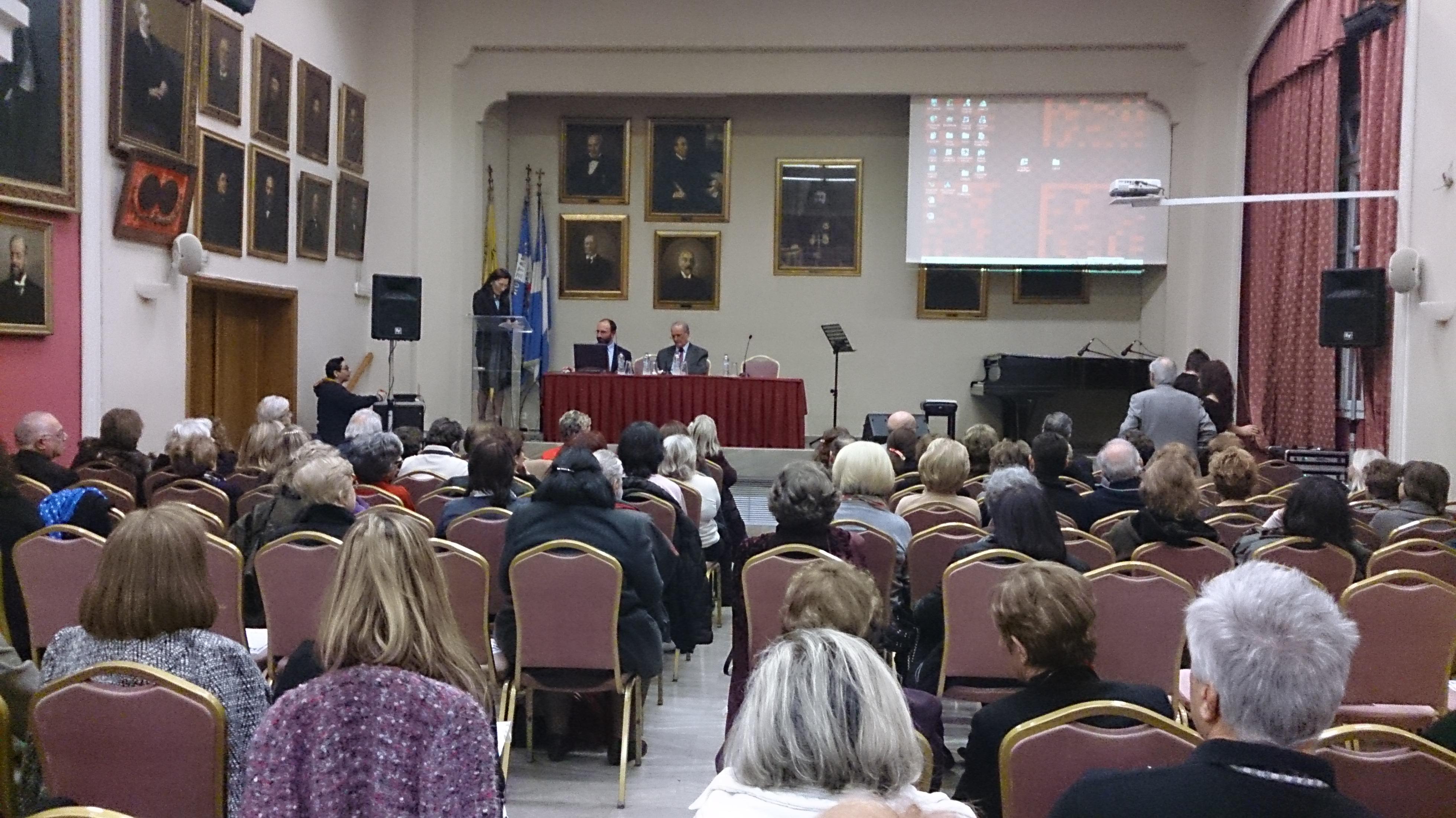 Η Γ,Γ, του Συλλόγου παρουσιάζει τους ομιλητές κ.κ. Αναπνιώτη και Αρβανιτόπουλο